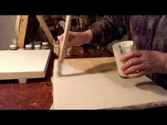 Левкас для икон. - YouTube Russian Icons, Painting Videos, Craft Tutorials, Painting Techniques, Techno, Arts And Crafts, Pumice Stone, Youtube, Watches