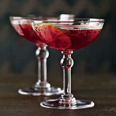 Jacques Bezuidenhout created this fruity aperitif-style cocktail for the San Francisco restaurant Tres Agaves. Tart hibiscus tea gives the drink its s...