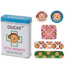 Ouch! Little Monkeys Fun Bandages