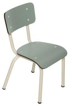 Les Gambettes Kinderstoel little suzie Blue Jade