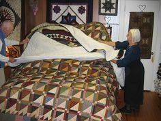 Amish quilt shop in Intercourse-- The Old Country Quilt Shop. Love this store.