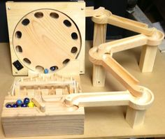 High quality, hand made, wooden games that are fun and that will last. Marble Race, Marble Machine, Mechanical Power, Wood Architecture, Woodworking Toys, House In The Woods, Home Projects, Wooden Toys, Games