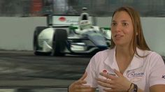 Driver Simona De Silvestro Talks IndyCar and the Nuclear Energy Industry