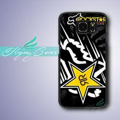 Fundas Fox Racing Rockstar Case for Samsung Galaxy Grand Prime Case for Samsung Galaxy S3 S4 S5 S6 S7 Active Mini Case.