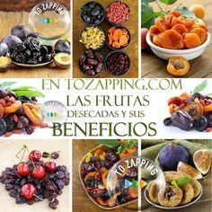 Las Frutas Desecadas Y Sus Beneficios.Para evitar el estreñimiento,reforzar los huesos y recibir un gran aporte de energía os recomendamos la fruta desecada