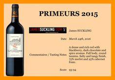 """ChâteauLaCommanderie on Twitter: """"La Commanderie 2015 noté par James Suckling #La_Commanderie #Primeurs2015 #SaintEmilion #JamesSuckling https://t.co/zft3NdYv4M"""""""