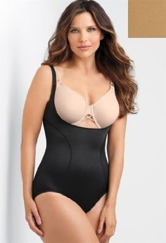 d0e8eae495d2f Avenue Plus Size WYOB Torsette Body Briefer (Sizes XL 2X) Avenue.  39.90