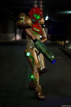 Cosplay Metroid, Samus