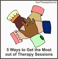 5 Ways to Get the Most out of Therapy Sessions - pinned by @PediaStaff – Please Visit  ht.ly/63sNt for all our pediatric therapy pins