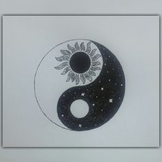 #doodle #yingyang #doodles Art Sketchbook, New Beginnings, Henna, Doodles, Symbols, Letters, Drawings, Tee Shirts, Tattoo Ideas