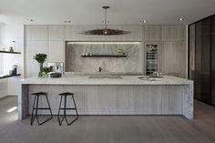 Obumex High-end Kitchen – Marble Modern Kitchen Interiors, Contemporary Kitchen Design, Apartment Kitchen, Home Decor Kitchen, Luxury Kitchens, Home Kitchens, High End Kitchens, Cuisines Design, Kitchen Remodel