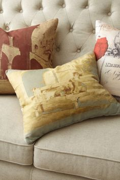 Montmartre Pillow - Feather Down Pillows, Accent Pillows, Decorative Pillows | Soft Surroundings