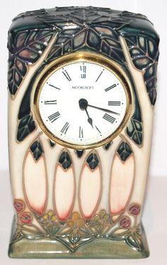 Moorcroft Art Nouveau Clock.