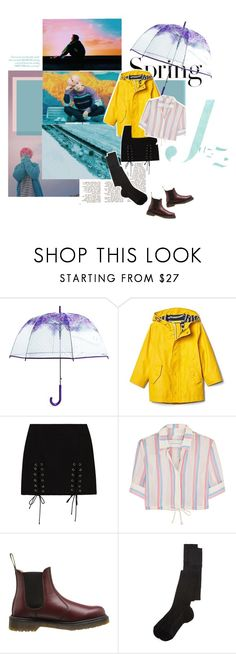 """Spring Showers"" by shadow ❤ liked on Polyvore featuring H&M, Vera Bradley, Solid & Striped, Dr. Martens and Missoni"