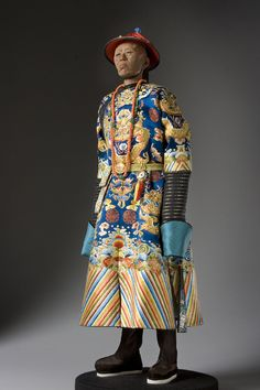 About Li Lien Ying (new robes), Li Lianying, from Portraits of Historical Figures of Qing China, a full length portrait by artist and historian George Stuart.