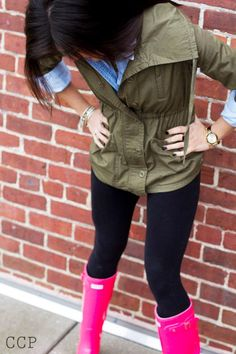 I want a pair of hunter boots!