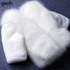 (54.98$)  Watch here  - white winter fur coat for girls parka girls luxury faux fur outerwear Kids Winter Jacket Down Coat Girls Children Clothes roupas