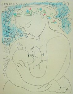 Pablo Picasso | Motherhood (1963)