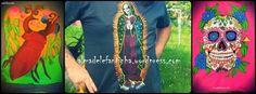Camisetas pintadas a mano. Almadelefantinha