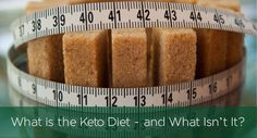 """Understand Keto Diet, """"Keto""""refers to the ketogenic state - when the body uses ketone bodies for energy instead of glycogen derived from carbohydrates."""