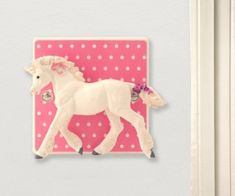 I've just found Unicorn Bedroom Light Switch. A unique unicorn bedroom gift, a decorative light switch with a real twist, turn the Unicorn to turn the lights on and off! Unicorn Themed Room, Unicorn Bedroom Decor, Pink Bedroom Decor, Bedroom Themes, Nursery Decor, Bedrooms, Dimmer Light Switch, Light Switch Covers, Light Switches
