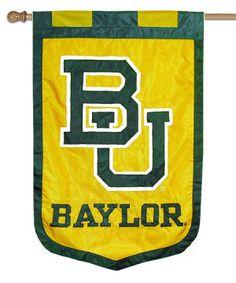 Baylor BU outdoor banner