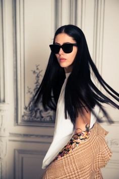 That. hair. http://www.thecoveteur.com/gilda-ambrosio/