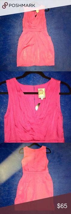 Size 4 Yoana Baraschi Hot Pink Dress Hot pink size 4 Yoana Baraschi dress. yoana baraschi Dresses Mini