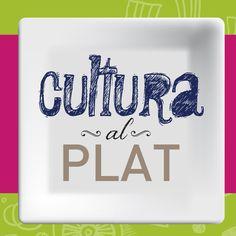 Cultura al plat, identificación gráfica para disfrutar de cena y oferta cultural en cardedeu.