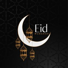 Eid mubarak celebration background with moon and vector image on VectorStock Eid Adha Mubarak, Eid Mubarak Wishes, Eid Mubarak Greeting Cards, Eid Mubarak Greetings, Happy Eid Mubarak, Eid Al Fitr, Ramzan Eid Mubarak, Ramzan Mubarak Image, Ramadan Greetings