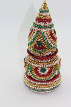 Diwali Decorations, Indian Wedding Decorations, Return Gifts Indian, Kalash Decoration, Coconut Decoration, Birthday Return Gifts, Acrylic Rangoli, Plastic Bottle Crafts, Diwali Gifts