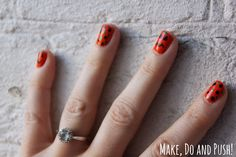 Make, Do and Push!: Halloween nail art