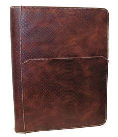 Leather Writing Portfolio Cover