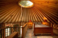 Tents and cabins step aside: Yurts are the vacation home of the future. See photos of stunning yurt homes from across the country and even learn how to add one to your backyard.