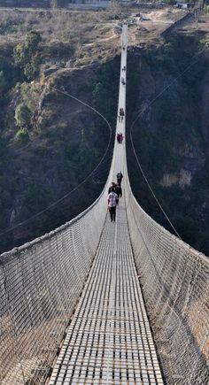 #Kusma_Gyadi_Bridge in #Nepal http://en.directrooms.com/hotels/country/1-26/