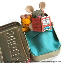 mmmcrafts: Tuck's Wee Mousie. https://www.etsy.com/listing/92689817/wee-mouse-tin-house-pdf-pattern?ref=shop_home_feat