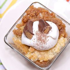 """My Peanut Butter Cobbler on Food Network show called """"Carnival Eats""""  ... i gotta find the recipe"""