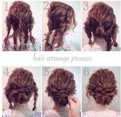 Updo: gala hairstyle