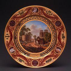 Plate, 1827  Sèvres