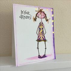 Florrie Doodle Dolly, Stampotique by Kassa Hayselden, artwork by G.Peplow