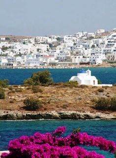 If there's one island that best represents the archipelago of Cyclades that would be Paros. Paros Greece, Santorini Greece, Mykonos, Beautiful Islands, Beautiful Places, Greek Islands Vacation, Places To Travel, Places To Visit, Greece Honeymoon
