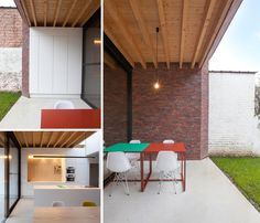 House V.L. in Grimbergen: Extension of an existing linked house (Belgium)
