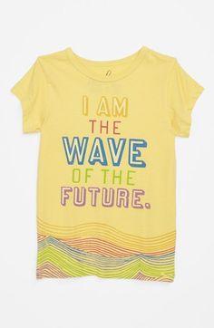 Peek 'Wave' Tee (Toddler Girls, Little Girls & Big Girls)   Nordstrom