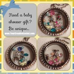South Hill Designs Lockets make perfect Baby Shower Gifts.  #baby  #southhilldesigns #jewelry