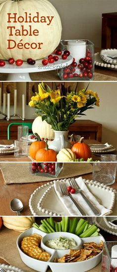 Thanksgiving Decorating Ideas #thanksgiving