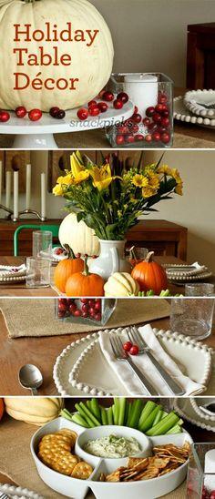 Thanksgiving Decorating Ideas #thanksgiving