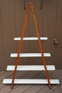 book+shelf+made+from+crutches | How to Make Wood Crutches Vintage Shelf - Craftspiration - Handimania