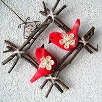 Prodané zboží uživatele Jalis | Fler.cz Christmas Crafts For Kids, Christmas Ornaments, Baba Marta, Mobiles, Virginia, Felt, Camping, Group, Tattoo