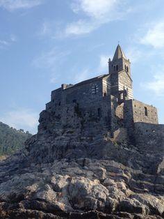 Iglesia de San Pedro, Portovenere, Italia. Bellísimo!!!!!