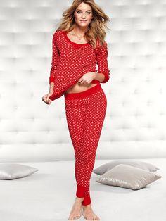 The Fireside Long Jane Pajama - Victoria's Secret.  Christmas jammies!